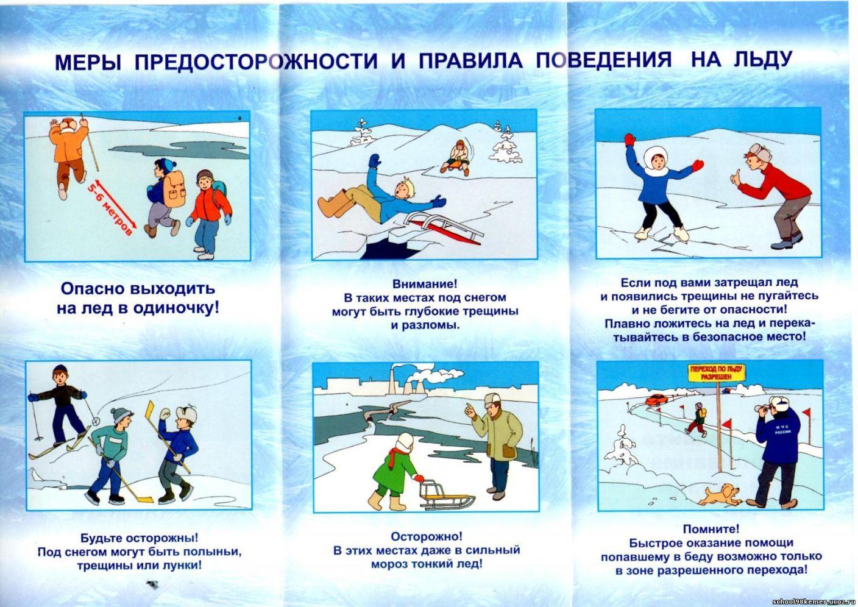 Картинки по запросу памятка тонкий лед школьникам